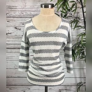Maurices Striped Lightweight Sweater Top